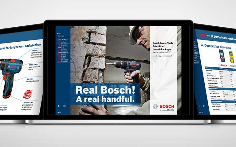 Bosch power tools sales interactive PDF