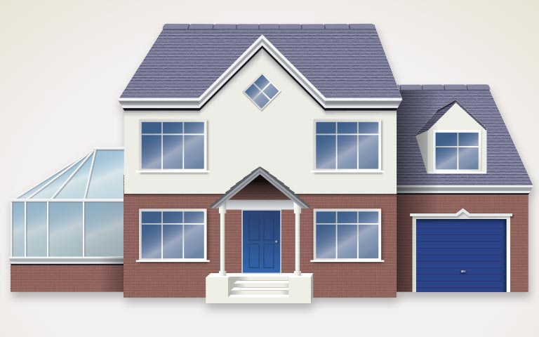 House illustration for RBS