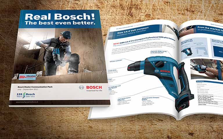 Bosch professional dealer communications pack brochure