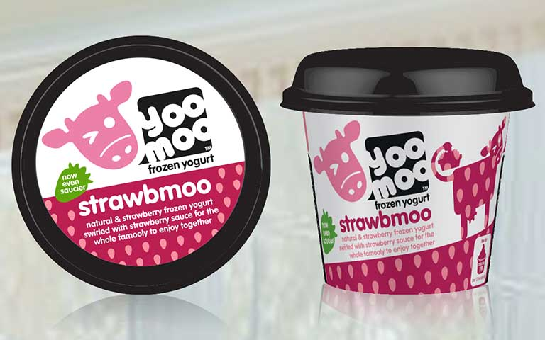 yoomoo flavoured frozen yoghurts packaging – Bulletproof