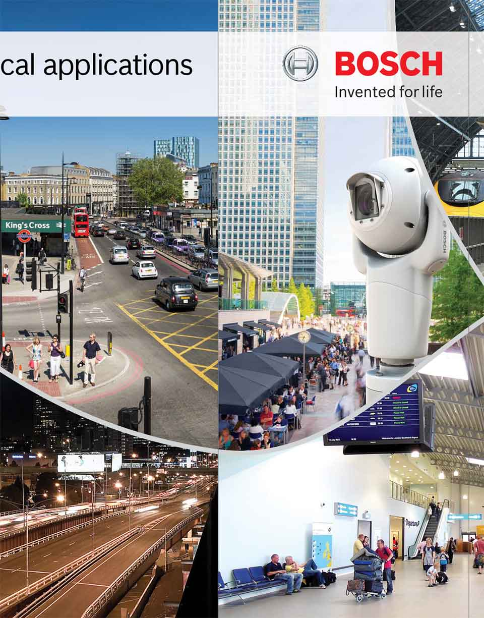 Exhibition panels – Bosch Security Systems
