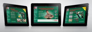 Bosch DIY ipad presentation