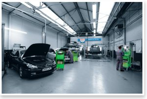 Bosch Service Centre retouching after
