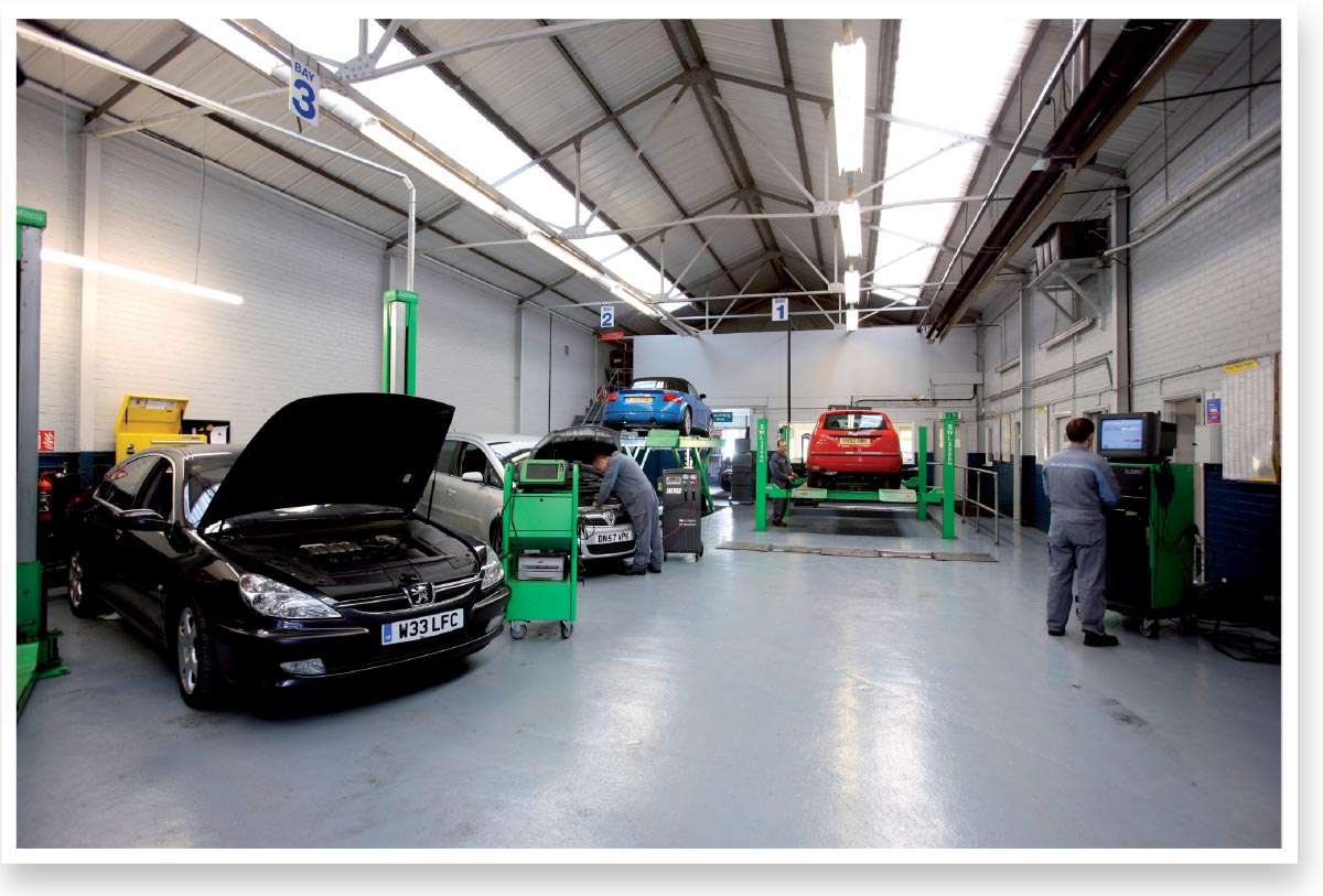 Bosch Service Centre retouching - before