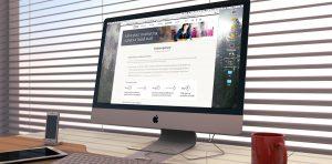 CIM website iMac window