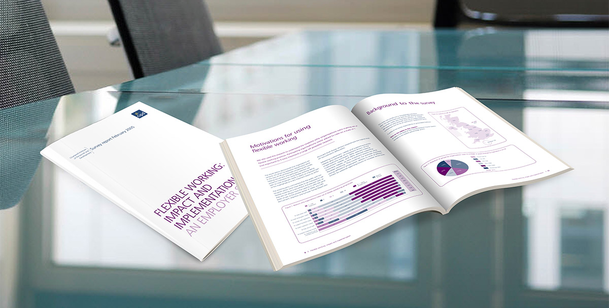 CIPD employment survey brochures