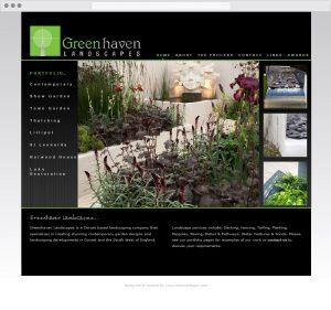 Greenhaven landscapes website