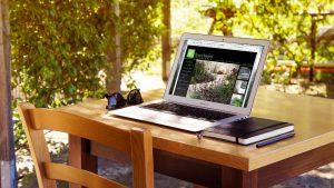 Greenhaven landscapes website MacBook Air