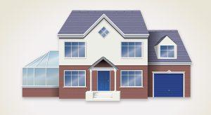 House illustration for RBS bank