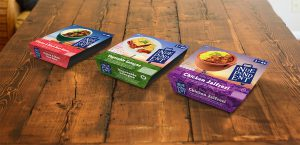 Independent packaging ready meals