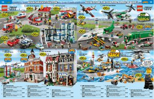 LEGO Smyths catalogue spread
