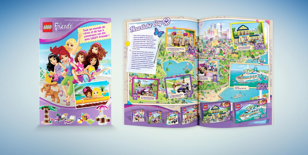 LEGO Friends press leaflet