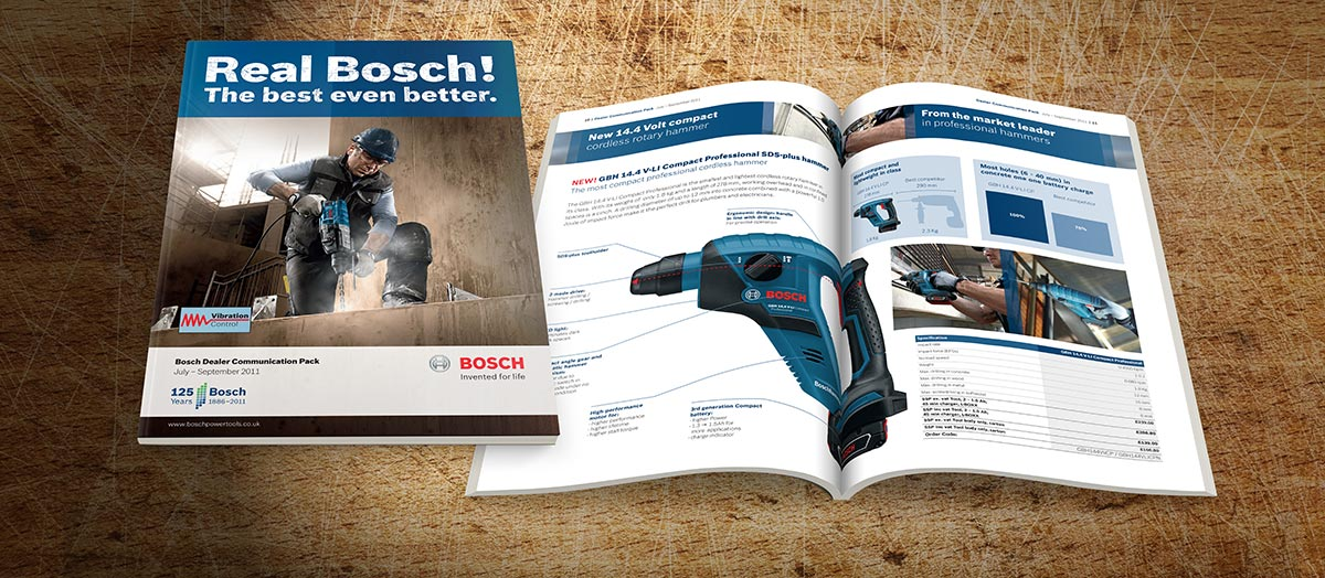 bosch professional dealer communications pack brochure. Black Bedroom Furniture Sets. Home Design Ideas