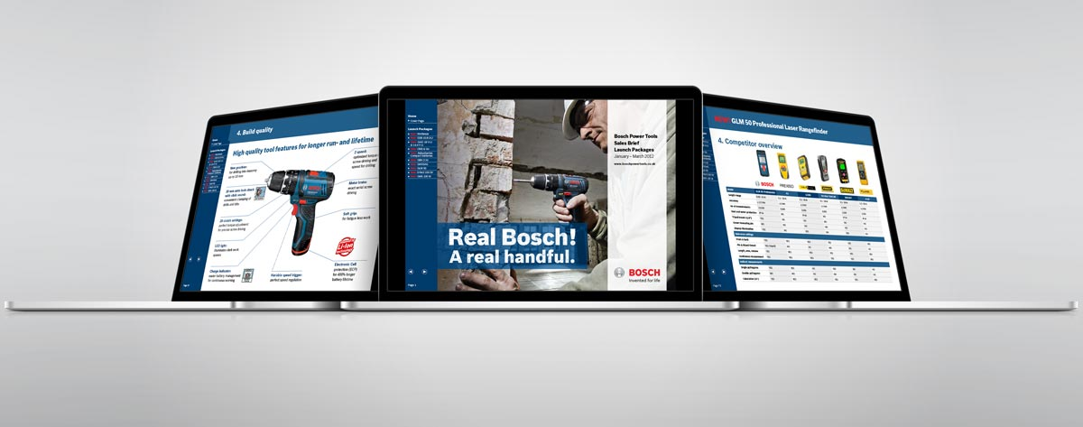 Bosch powertools Sales interactive PDF