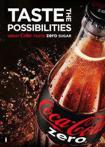 Coke Zero poster portrait