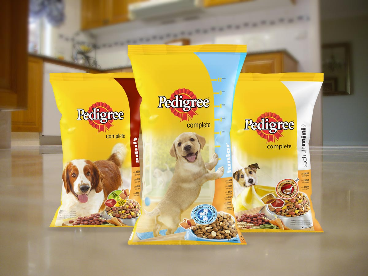 Pedigree-dry-food-bags-on-floor