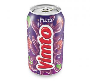 Vimto packaging Can