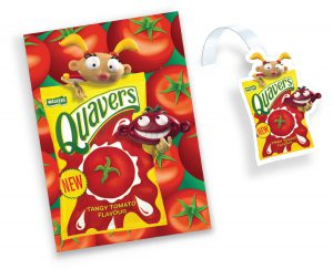 Walkers crisps Quavers Tangy Tomato items