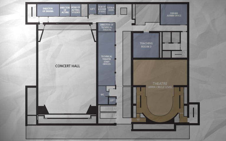 Floor plans – Guildhall School of Music & Drama