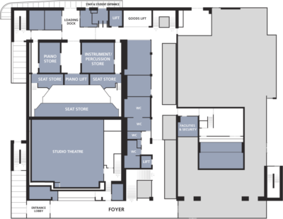 Milton Court floor plans Ground floor
