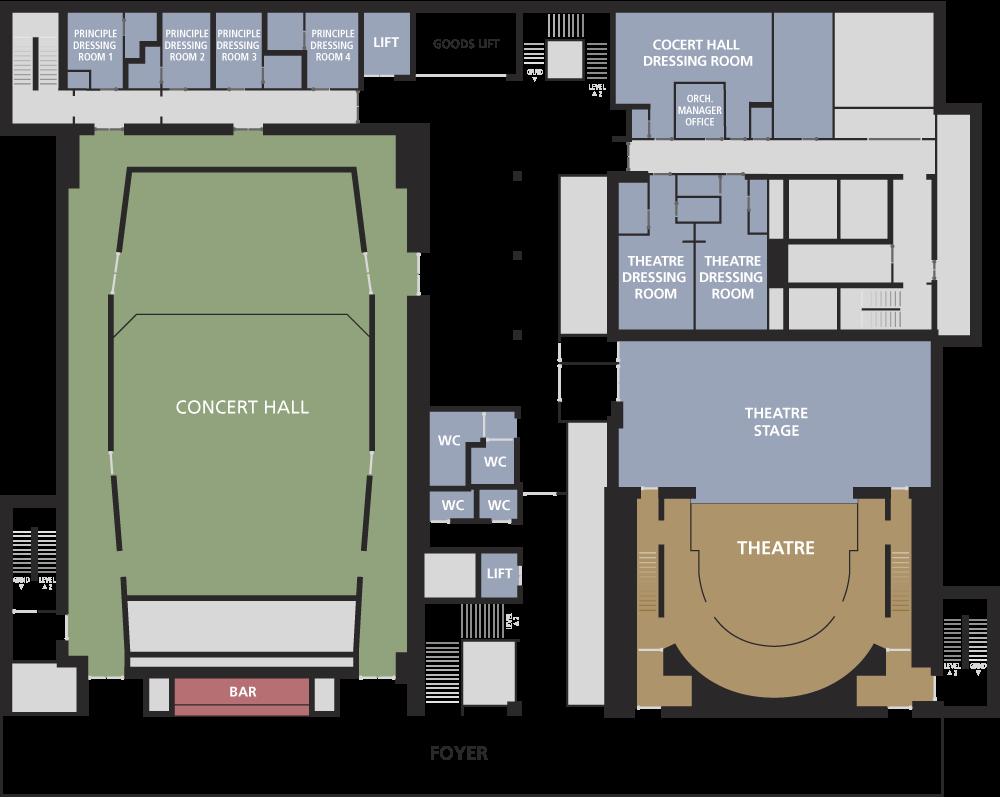Floor Plans - Guildhall School Of Music  U0026 Drama