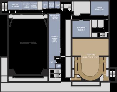 Milton Court floor plans level three