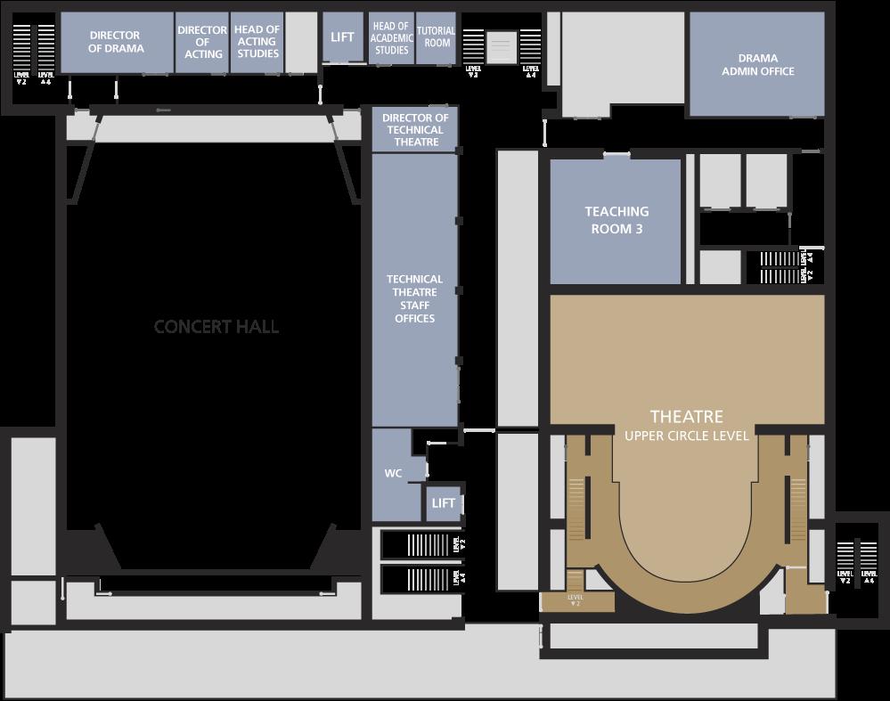 Milton Court Floor plans - level three