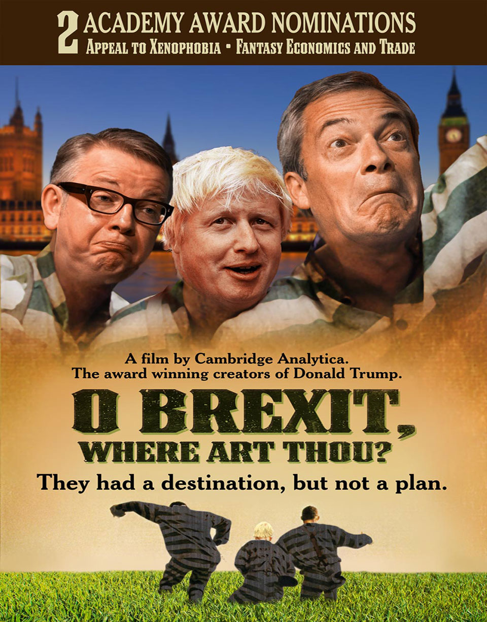 O Brexit Where Art Thou Poster